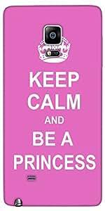 Snoogg Keep Calm Princess Designer Protective Back Case Cover For Samsung Gal...