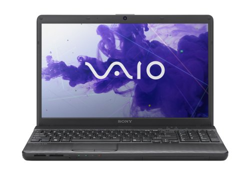 Sony VAIO EH2 Series VPCEH24FX/B 15.5-Inch Laptop (Charcoal Hellish)