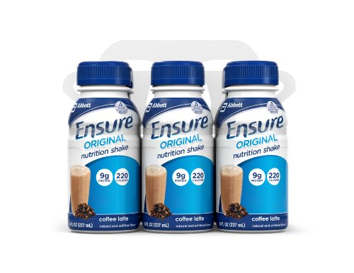 ensure-original-nutrition-shake-coffee-latte-8-ounce-bottle-6-count-pack-of-4