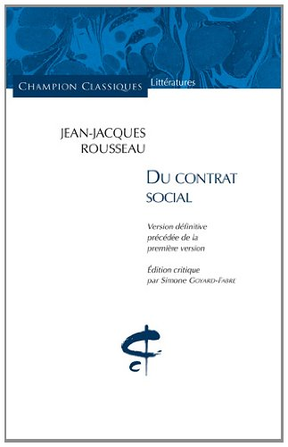du-contrat-social-champion-classiques