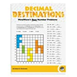 MindWare - Decimal Destinations - 39 Unique Puzzles With 18 to 24 Problems - Teaches Decimals and Addition