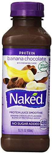 Naked Juice, Protein Zone Banana Chocolate, 15.2 Oz front-310625