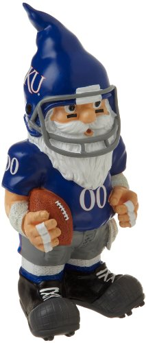 NCAA Kansas Throwback Gnome