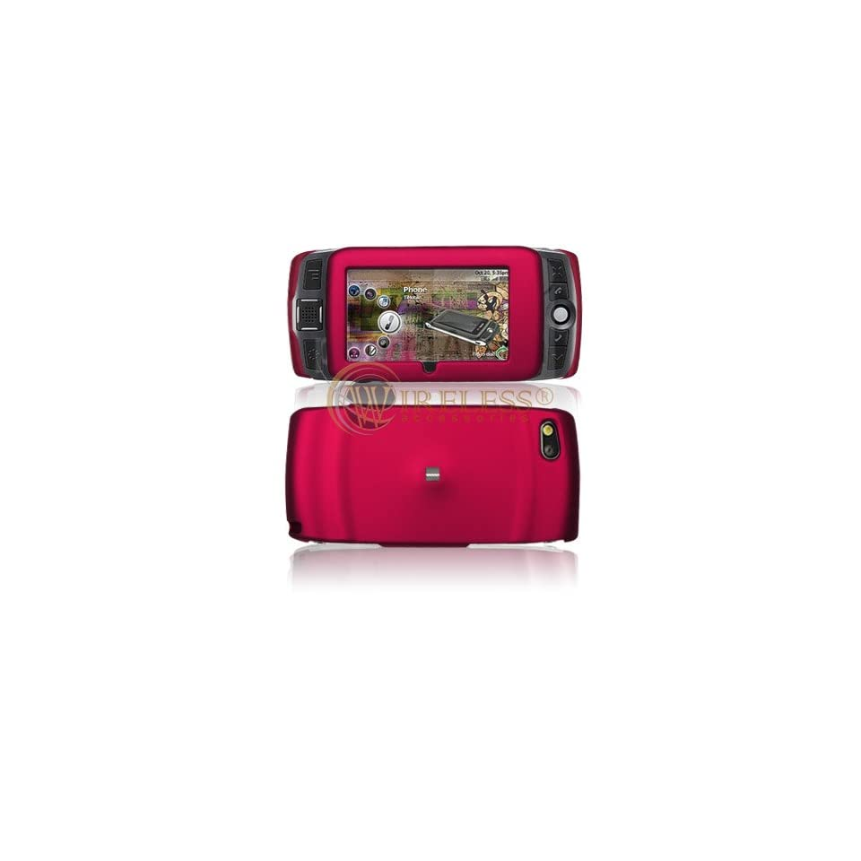 Rose Pink Rubberized Phone Cover for Sidekick LX 2009 T Mobile Protector Case