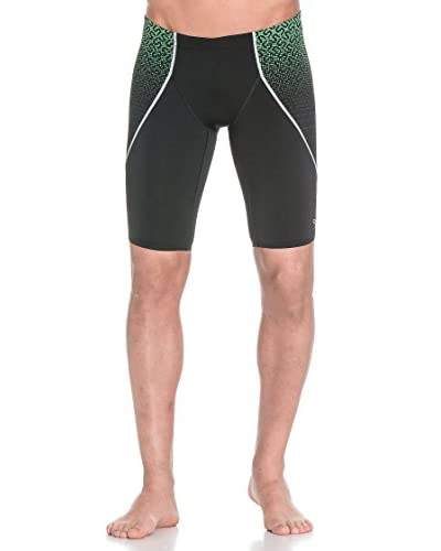 Speedo Shorts da Bagno Spdfit Pinnacle-V Jam Am [Nero/Verde]