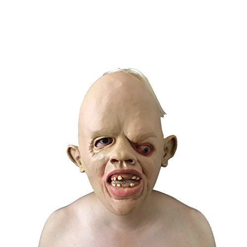 [The Goonies Sloth Mask ,Keepfit Latex Creepy Scary Ugly Mask Halloween Costumes] (Flower Child Costumes Ideas)