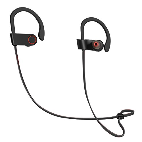 Bluetooth Earbuds, Latest CSR 4.1 Wireless Technology, Stereo Sound, Built-In Microphone, and IPX4 Water-Resistant Headphones for Active Lifestyles by ICONNTECHS IT (Bullet Shaped Headphones compare prices)