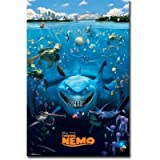 (22x34) Finding Nemo Cast Movie Poster