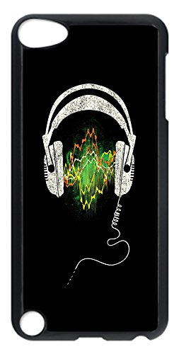 Ipod 5 Case Headphones Pc Custom Ipod 5 Case Cover Black