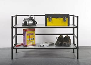 Ever Concept Heavy Duty 2-Tier 24-Inch H by 36-Inch W Stackable Shelf