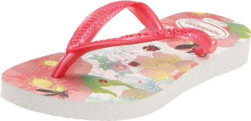 Havaianas Kids Slim Tinker Bell Flip Flop (Toddler/Little Kid),White,23-24 Br (8 M Us Toddler)
