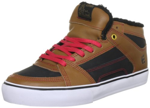 Etnies Men's Rvm Lx Brown/Red Lace Up 4101000386 7 UK, 8 US