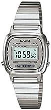 Casio LA670WA-7 Womens Metal Band Countdown Timer Alarm