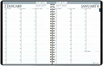 "House of Doolittle 2016 Weekly Planner Calendar, 8.5"" x 11"", Professional, Blue Cover (HOD27207-16)"