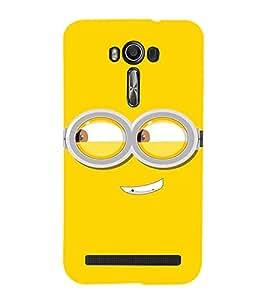 EPICCASE Naughty Minion Mobile Back Case Cover For Asus Zenfone 2 Laser ZE500KL (Designer Case)