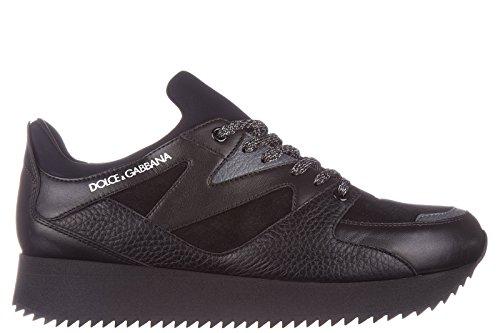 dolcegabbana-zapatos-zapatillas-de-deporte-hombres-en-piel-nuevo-cros-negro-eu-41-cs1424-ad444-8t948