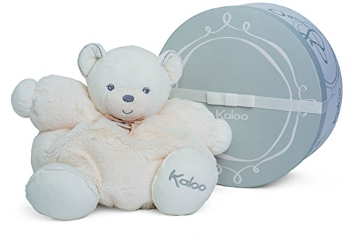 Top 5 Baby Toys for Christmas 2016 - Kaloo Perle Plush Toys, Cream Chubby Bear, Large