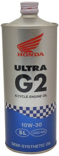 HONDA [ ホンダ純正オイル ] ULTRA G2 [ ウルトラ G2 ] 10W-30 [ SL ] 部分化学合成油 [ 1L ] (4サイクル用) 08233-99971 [HTRC3]
