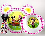Minnie Mouse Dinnerware Set - microwavable