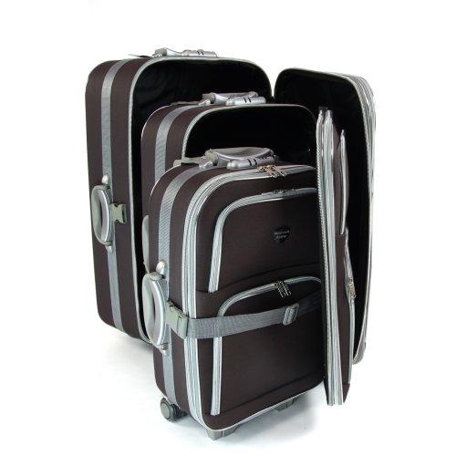Reisegepäck Set Softcase Koffer Kofferset Trolley