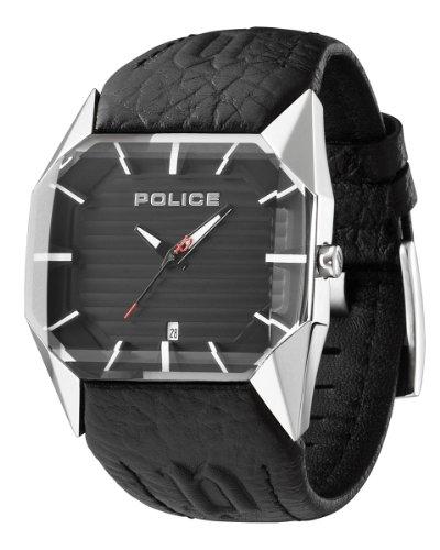 Police Vector Men's Black Strap Watch 12176Js/02A