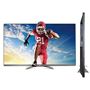 JVC SL47B-C 47 in LED LCD 1080p 120Hz 3D SMART WiFi HDTV With 4 Pairs of 3D GLASSES