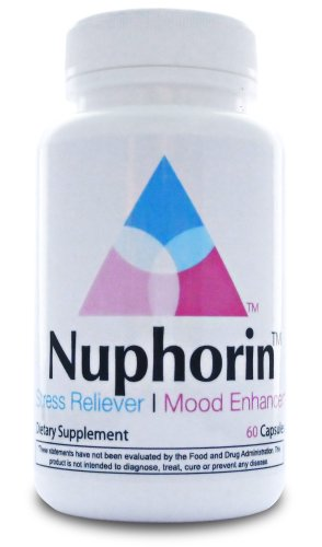 Nuphorin™ Fast-Acting Anxiety Relief ✭ Pharmaceutical Grade Anti-Anxiety Formula For Anxiety, Stress Relief and Panic Attacks with Magnesium, Ashwagandha, 5-HTP, GABA, Folic Acid, DMAE, Niacinamide, Chamomile and B-Vitamins (60 Capsules) ✭ Safe & Effective ✭ 100% Money Back Guarantee! ✭