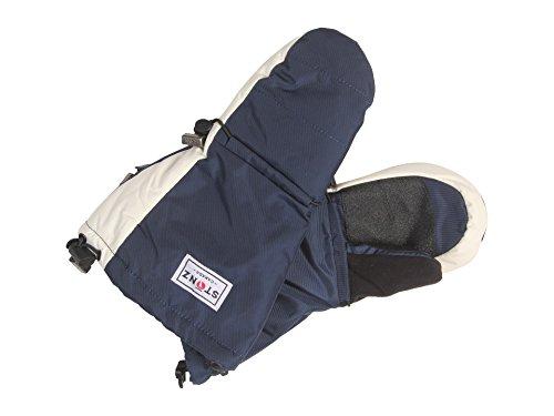 Stonz Unisex Mittz (Toddler/Little Kid/Big Kid) Blue - Navy Gloves MD/LG (4-8+ Years)