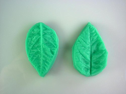 2pcs Leaf Shape Silicone Soap Mold,fondant Cake Decorating Styling Tools, Bakeware,cooking Tools Kitchen Accessories