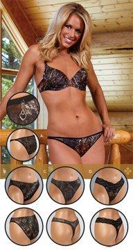 Weber Camo Leather Goods Womens Padded Bra Breakup