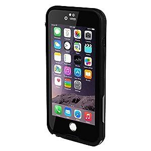 防水ケース Bengoo 改良版 iPhone6/6s用防水ケース 防塵ケース スマートフォン用防水 防滴 アウトドア耐衝撃シースルー対応衝撃吸収 防雪 防塵 敏感なタッチ 防水保護等級IPx68 指紋認証対応