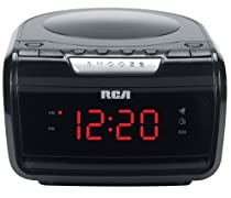 RCA RP5605 AM/FM CD Clock Radio with Large LED Display