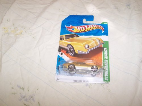2011 HOT WHEELS STUDEBAKER AVANTI TREASURE HUNT #5 OF 15