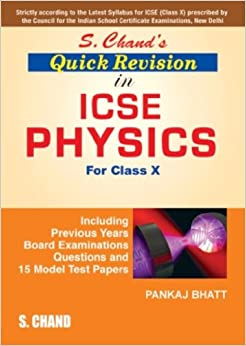 S. Chand Quick Revision in ICSE Physics X price comparison at Flipkart, Amazon, Crossword, Uread, Bookadda, Landmark, Homeshop18