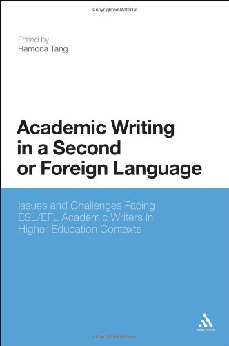 Academic Writing in a Second or Foreign Language: Issues and Challenges Facing ESL/EFL Academic Writers in Higher Educat