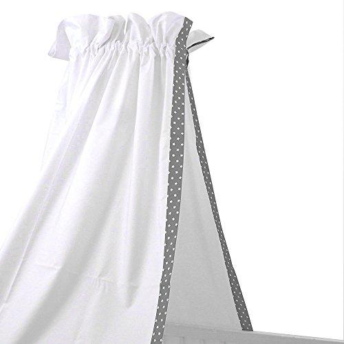 sugarapple baby betthimmel f r babybetten oder kinderbetten 150 cm h he x 200 cm l nge babybett. Black Bedroom Furniture Sets. Home Design Ideas