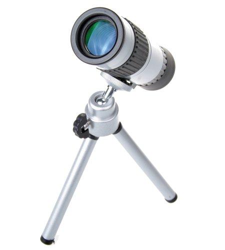 Nuoya001 Power Zoom Adjustable 15-55X Monocular Telescope&Tripod Quality Warranty