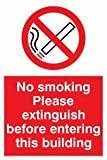 No Smoking - Prohibition Sign
