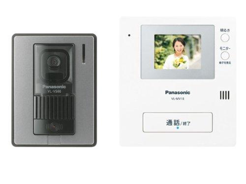 Panasonic anywhere door phone video intercom systems (camera 玄関子 machine monitor base unit 1 in each set) VL-SV 18 K