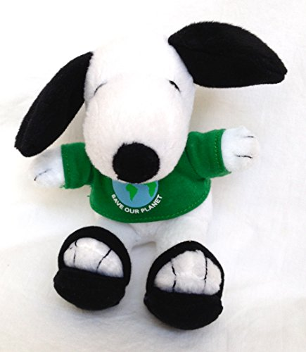 Metlife Peanuts Snoopy Plush: Save Our Earth - Earth Day - 1