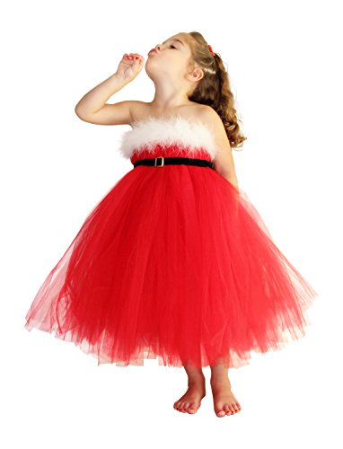 Christmas Santa Dress & Costumes for Girls