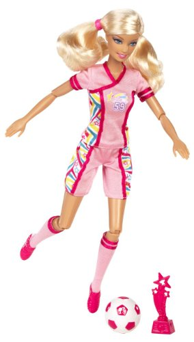 Barbie I Can Be Team Barbie Soccer Champion Doll (Barbie I Can Be Dolls compare prices)