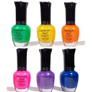 Kleancolor - Neon Brights - 6 Nail Lacquer Colors