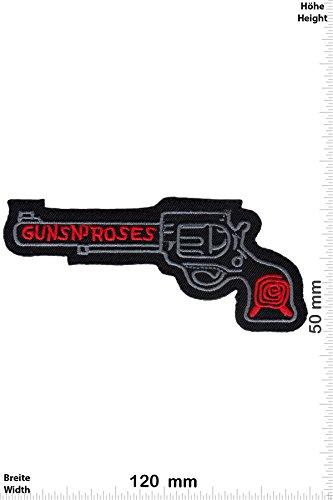 """Patch - Guns n' Roses - Colt - Musica - Guns n Roses - Guns n Roses- toppa - applicazione - Ricamato termo-adesivo - Patch"""""""