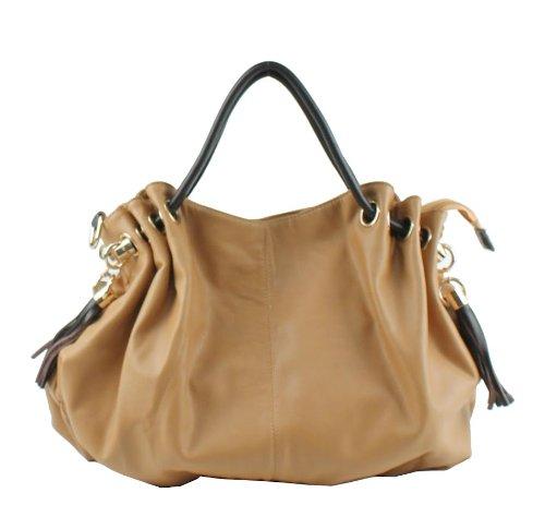 Scarleton Elegant Shoulder Handbag H107508 - Beige