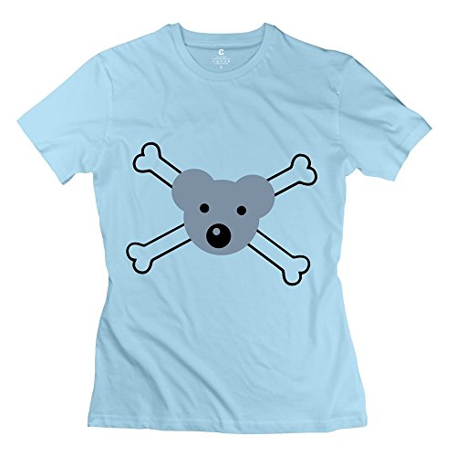Pirate Mouse Bear Great Women T-Shirt