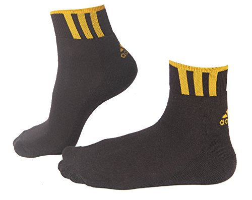 Adidas Adidas Sports Half Cushion Ankle Socks White  Black Colour