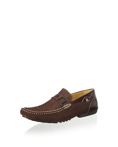 Mezlan Men's Slip on Driver with Strap and Buckle