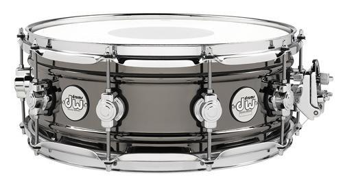 DW Design Series Black Nickel over Brass Snare Drum 14x5.5