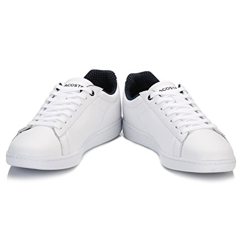 Lacoste Womens White Carnaby EVO 116 Trainers-UK 6
